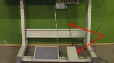 Pedal , Ketten , Haken für Tisch ( Untergestell ) Industrienähmaschinen