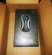 NIB Brand New in Box Razer Tron Laser Gaming Mouse by Disney 5600DPI USB Leds