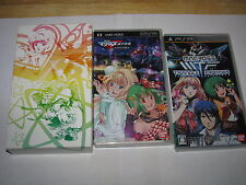 Macross Triangle Frontier Limited Box Sony Playstation Portable PSP Japan import