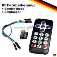 IR Infrarot Funk Fernbedienung Set Sender Empfänger Arduino Raspberry Pi Modul