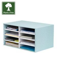 Desktop Filing Tray Sorter A4 Document Organiser Home Office Storage Desk