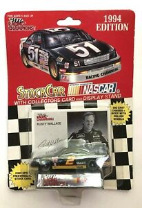 1994 #2 RUSTY WALLACE - 1:43 SCALE DIECAST CAR w/CARD ~ Sealed in Orig Pkg