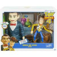 Disney Pixar Toy Story 4 Benson & Sheriff Woody Posable Action Figures 2 Pack