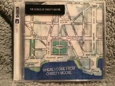 CHRISTY MOORE - WHERE I COME FROM - NEW X3 CD