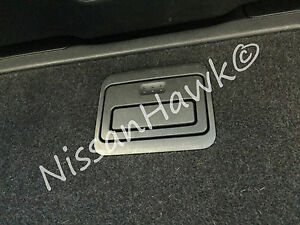 NEW OEM 2013-2016 PATHFINDER REAR STORAGE COMPARTMENT RELEASE HANDLE