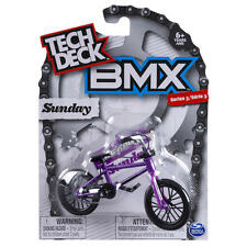 New 2017 Tech Deck BMX FINGER BIKES Series 3 SUNDAY Flick Tricks Purple Black