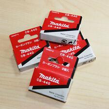 GENUINE Makita CB440 Carbon Brushes 194427-5 DHP456 DHP458 BDF440 BDF441 BHP451