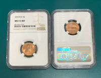1969 D Lincoln Cent NGC MS66RD