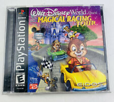 Walt Disney World Quest: Magical Racing Tour - PS1 - Complete - Free Shipping!
