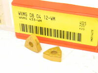 NEW SURPLUS 10PCS. SANDVIK WNMG 433-WM  GRADE: 4025  CARBIDE INSERTS