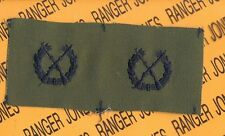 US Army OPFOR Oppossing Forces Infantry Branch cloth patch set