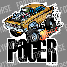 Muscle Car Vinyl Stickers - Valiant Pacer
