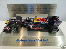 Minichamps 1:18 - Sebastian Vettel 2010 - Red Bull F1 Grand Prix Legends display