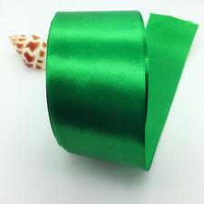 "New 5 Yards 50mm 2"" Satin Ribbon Multi-Purposes Craft Wedding Party Pick Colors"
