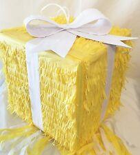 Yellow Gift Box Pinata