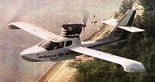 A-25 Glory Amphibian Aeroprakt A25 Airplane Mahogany Kiln Wood Model Large New