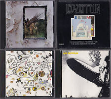Led Zeppelin 1 3 4 The Song Remains the Same Soundtrack lot CDs I III IV