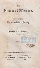 Stöger: Die Himmelskrone  1850