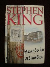 Hearts in Atlantis by STEPHEN KING  1st edition 1999  Hardcover / Scribner