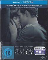 Fifty Shades of Grey - Geheimes Verlangen [Limited Steelbook - Blu-ray NEU/OVP]