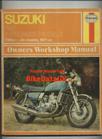 Suzuki GT750 J K L M A (71-76) Haynes Manual GT 750 Kettle Water Buffalo CJ67
