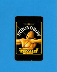 Single Playing Card.  Strongbow Strong Dry Cider .  H.P.Bulmer