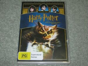 Harry Potter And The Philosopher's Stone - Brand New & Sealed - Region 4 - DVD