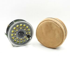 J. W. Young-Built Daiwa 812 Fly Fishing Reel. Made in England.