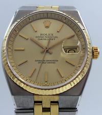 Rolex Datejust 1630 Yellow Gold and Steel Two Tone 96673 Jubilee circa 1977/1978