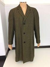 Aquascutum Men's Vintage Lambswool Tweed Coat, Jacket, Overcoat, XL, Immaculate