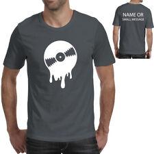 DJ Vinyl Melting record T-Shirt Party