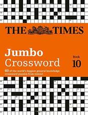 The Times 2 Jumbo Crossword Book 10 (Times Mind Games) by Times2, Grimshaw, John