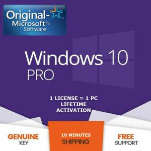 ✔️Windows10 Pro Key Professional License 32-64 bit Activation Genuine Key online