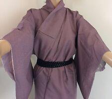 Authentic giapponese Viola Ametista Kimono Di Seta, per donna, Giappone Importazione (m1152)