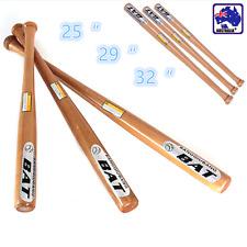 "25"" 29"" 32"" Wood Baseball Bat Self-defense Safety Exercise Training ONSQ760"