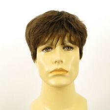 Short Wig For Men Natural Hair dark Blond Ref LAURENT 8