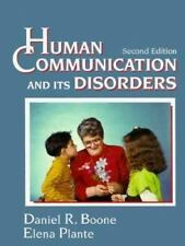 Human Communication and Its Disorders by Elena Plante and Daniel R. Boone...