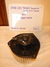 2008-2014 Subaru Impeza WRX 2.5L Turbo OEM AC Blower Motor  50276-894000