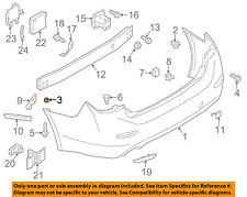 NISSAN OEM Front Bumper-Bumper Cover Grommet 850991MA0A