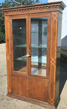More details for 20thc,french,armoire,clothes,linen,bookcase,shelves,cabinet,cupboard,wardrobe