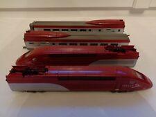HO TGV MEHANO THALYS MOTRICE + CONTRE MOTRICE + 2 VOITURES T671