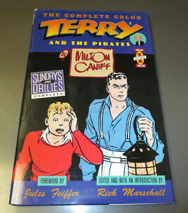 1990 Complete Color TERRY And The Pirates v. #1 1934-35 HC/DJ VF+
