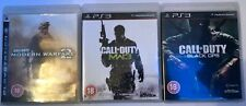 PS3 CALL OF DUTY: MODERN WARFARE 2, MW3 & Black Ops Collectors triple pack!