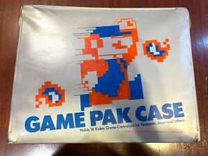 Nintendo NES Game Pak Case With 8–bit Mario Graphic Holds 16 Cartridges
