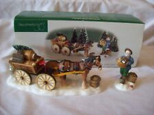 New ListingDepartment 56 New England Village Load Up The Wagon No. 56630
