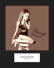 ARIANA GRANDE #5 10x8 SIGNED Mounted Photo Print - FREE DELIVERY