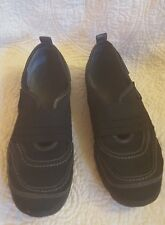 WOMEN'S MERRELL MIMOSA Band Black Nubuck Mesh Slip-On Athletic Shoes 8