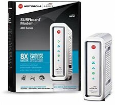 Arris Cable Modem SURFboard 3.0 Internet Pc Connect Fast Broadband Speed