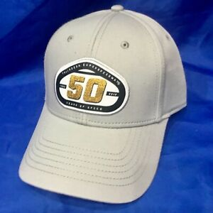 NASCAR TALLADEGA SUPERSPEEDWAY 50th Anniversary CAP HAT SALESMAN SAMPLE Grey