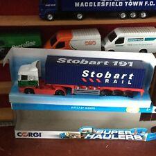 Corgi Superhaulers Eddie Stobart (RAIL SKETALTRAILER)(TY86650)